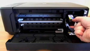 How To Change And Put Canon Printer Ink Cartridges