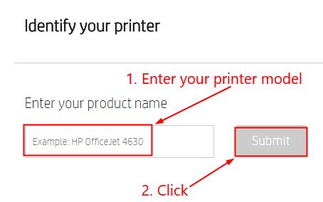 Identify Printer