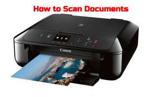 How to Scan on Canon Printers