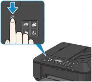 power off Canon Printer