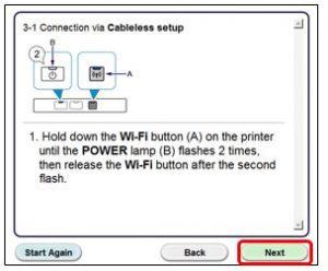 wireless canon printer mx 490