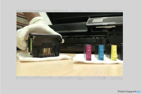 Clean the cartridges - canon printer error b200