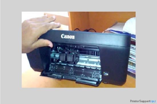 Open the printer - canon mg5200 printer error b200