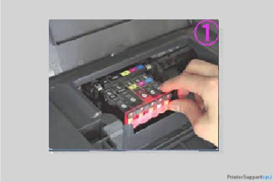 Replace new tank - canon printer error b200
