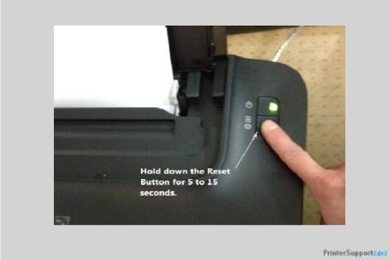 Reset the printer - canon printer mx850 error code b200