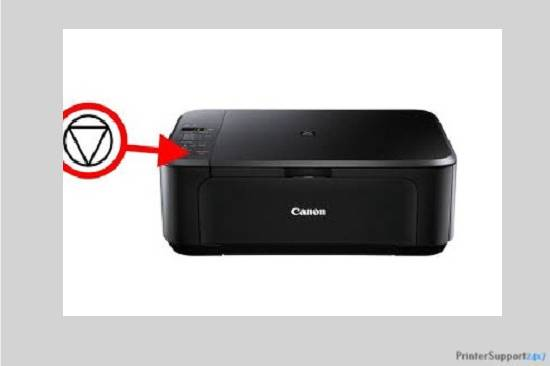 Restart Canon printer - canon mg5200 printer error b200