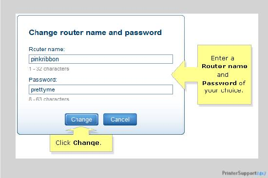network name and password key - how to connect brother printer to wifi