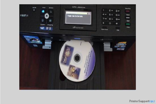 setup with CD - how to connect brother hl 2270dw printer to wifi