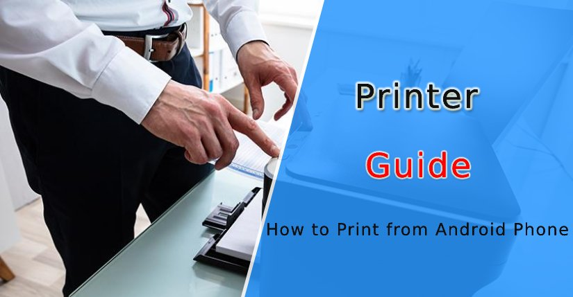 How to Print from Android Phone to Wireless Printer