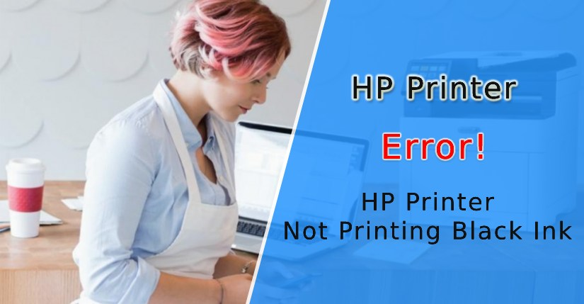Why is my HP Printer Not Printing Black Ink (Fixed)