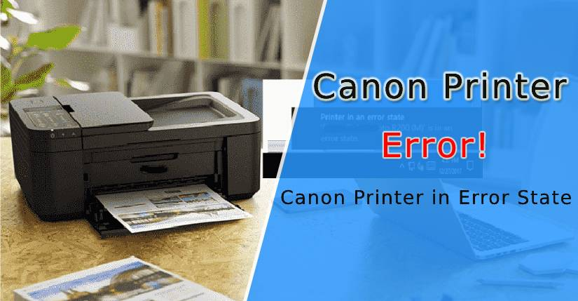 Canon Printer in Error State
